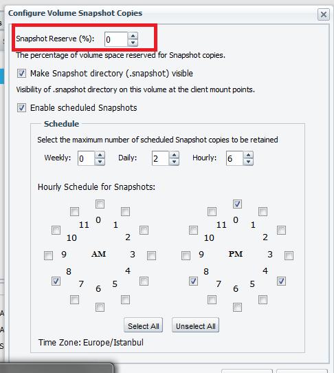 Nfs volumes exportfs komutu ile listelenen ve unix sunucular